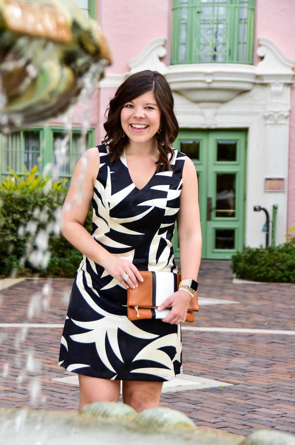 Julie Brown Fern Work Dress
