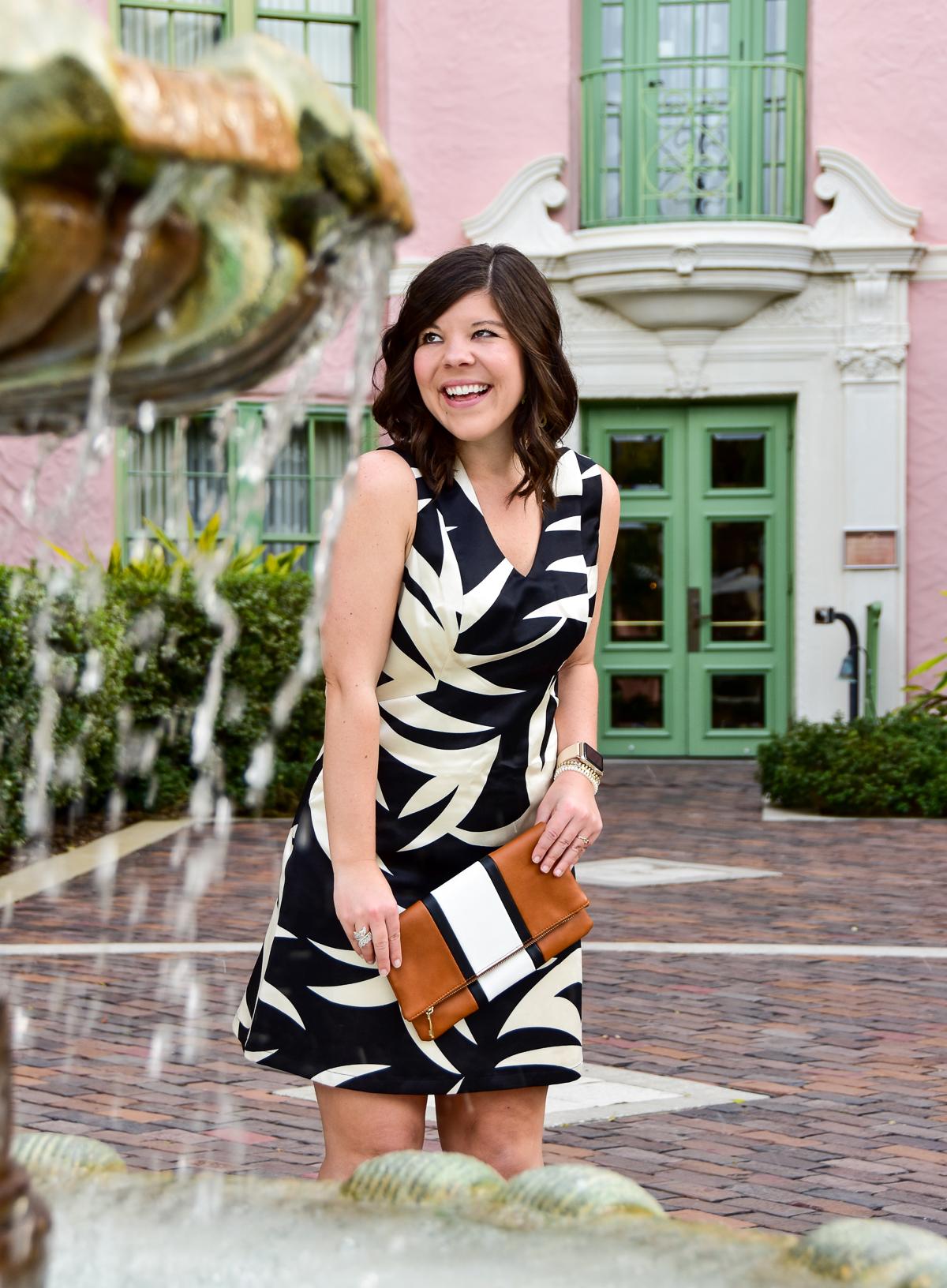 Julie Brown Fern Dress Work Style