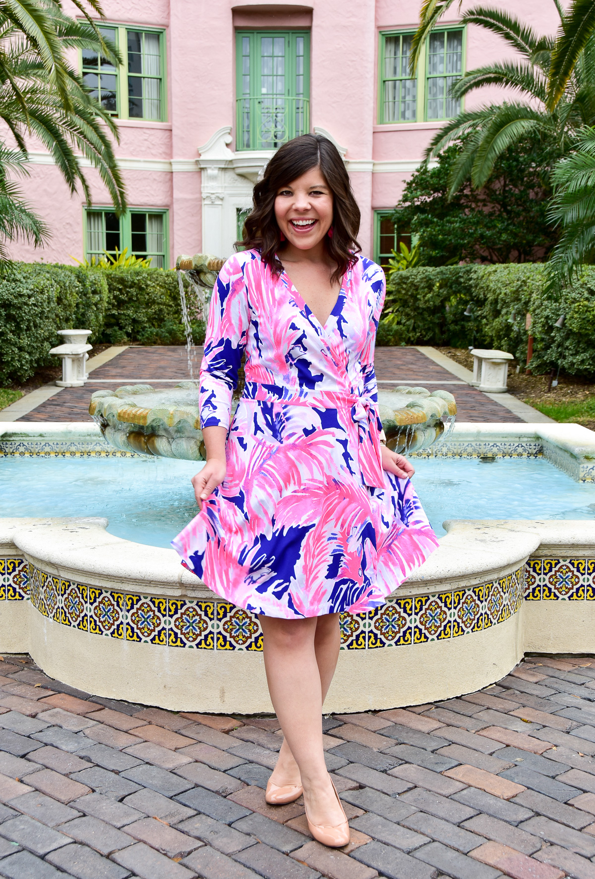 Valentine's Style: Lilly Pulitzer Emilia Wrap Dress