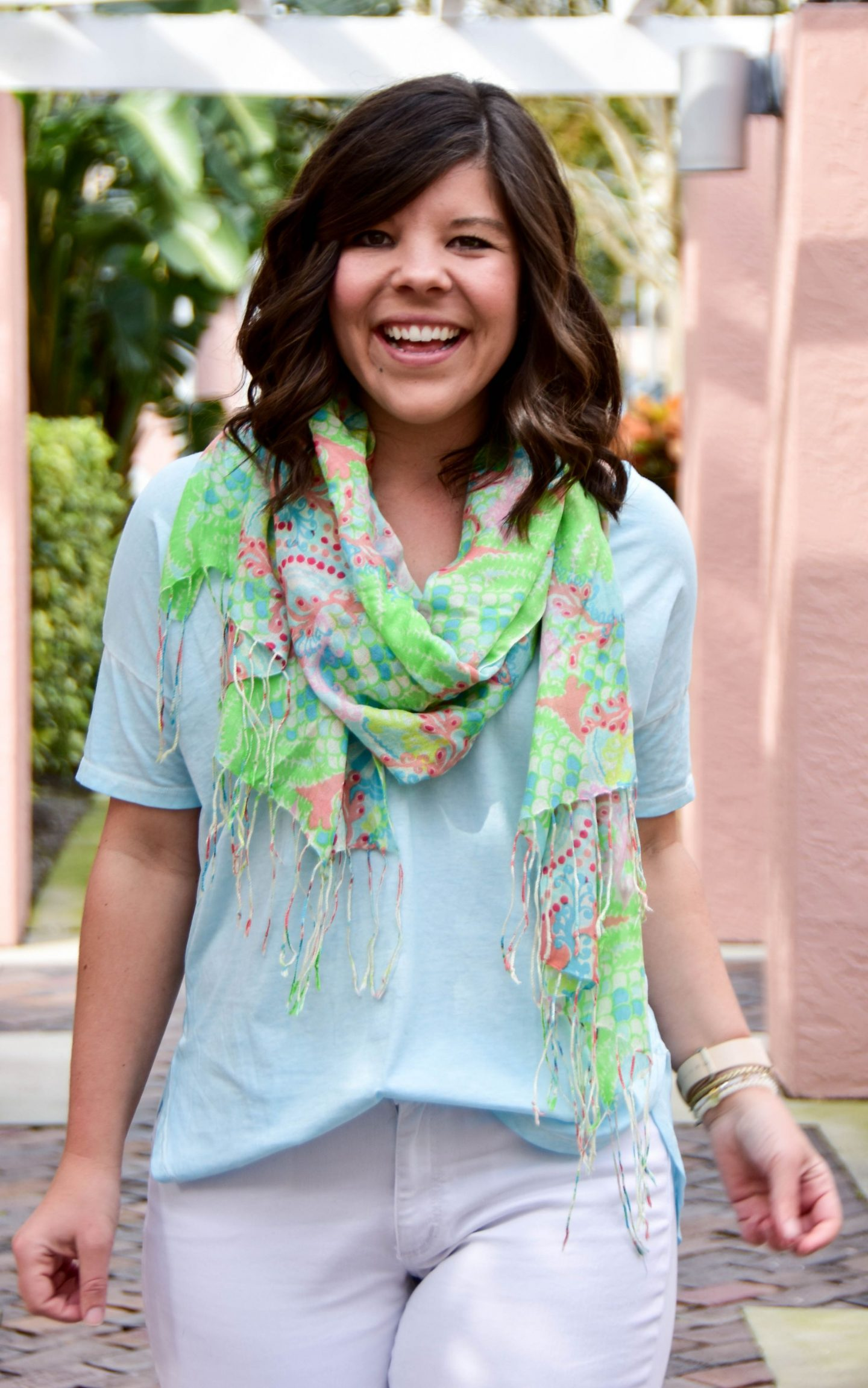 Lilly Pulitzer Murfee Spring Scarf