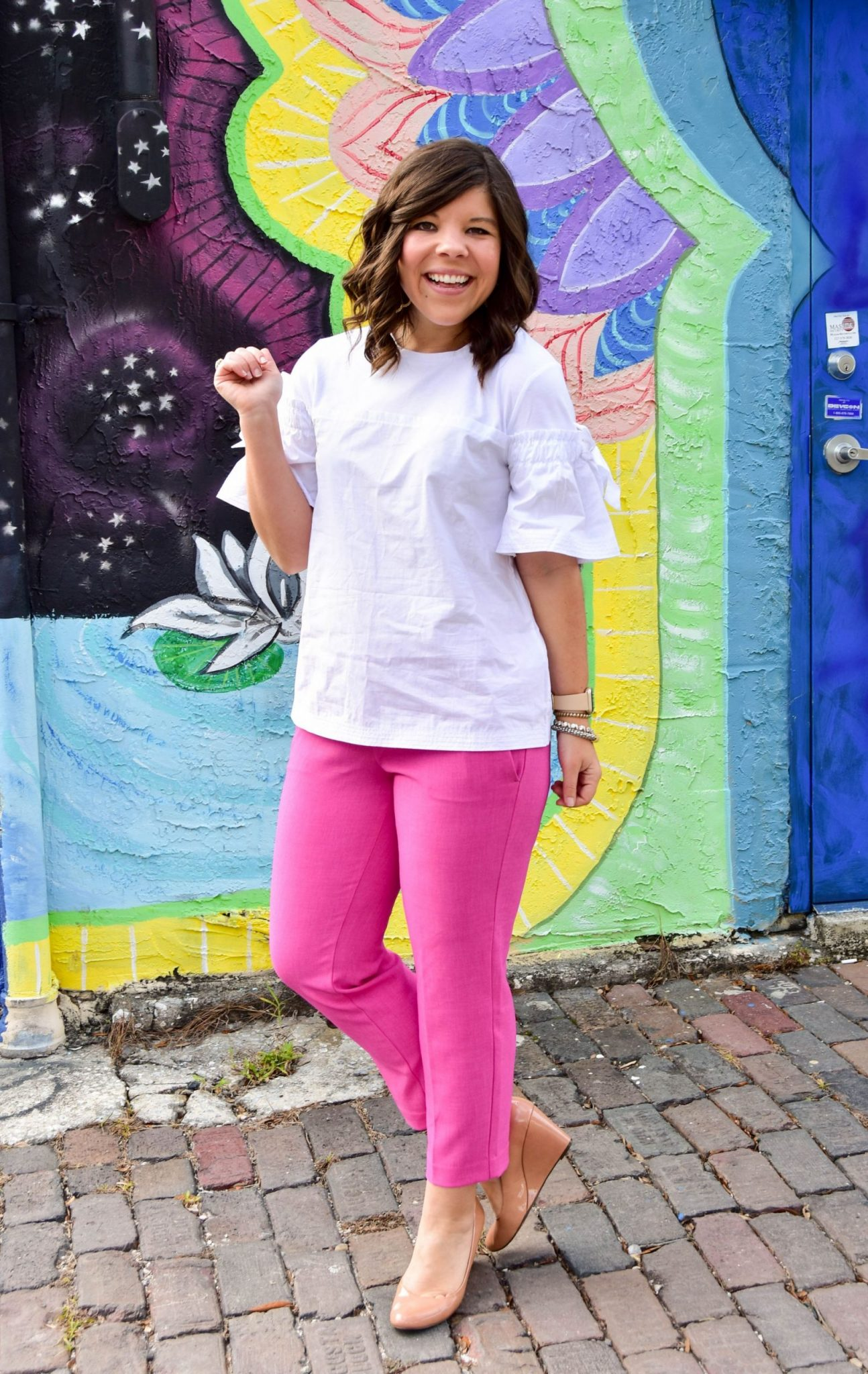 Workweek Chic: Think Pink