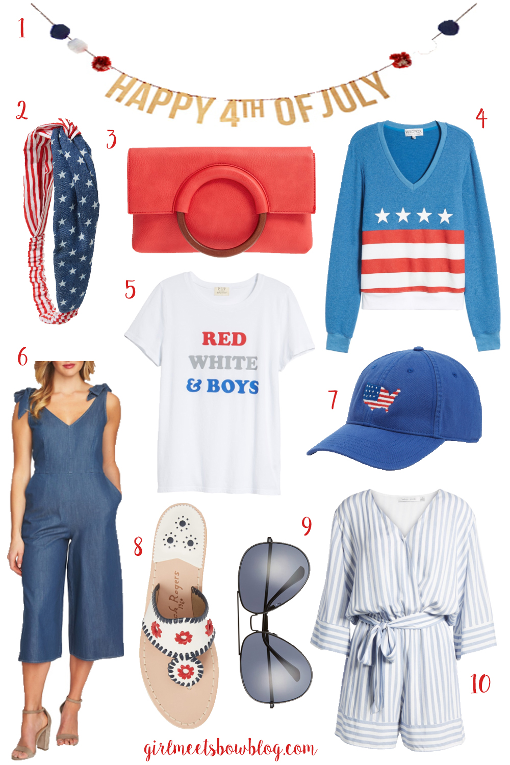 Red, White, & Blue: 4th of July Style
