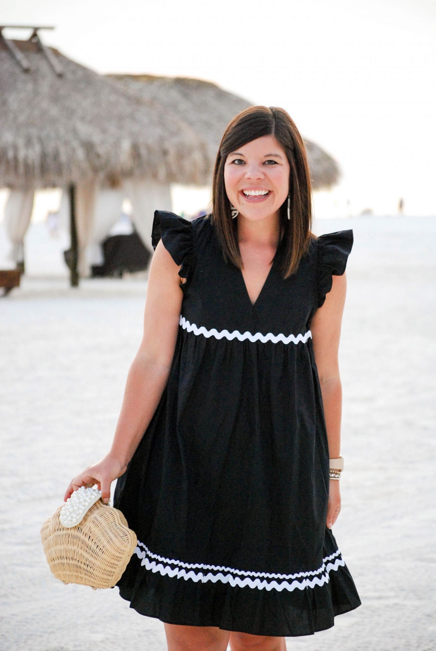 Ric Rac Dress on the Beach + Nordstrom Giveaway!