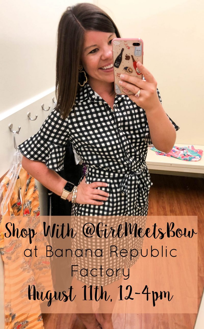 Shop With Me at Banana Republic Factory!