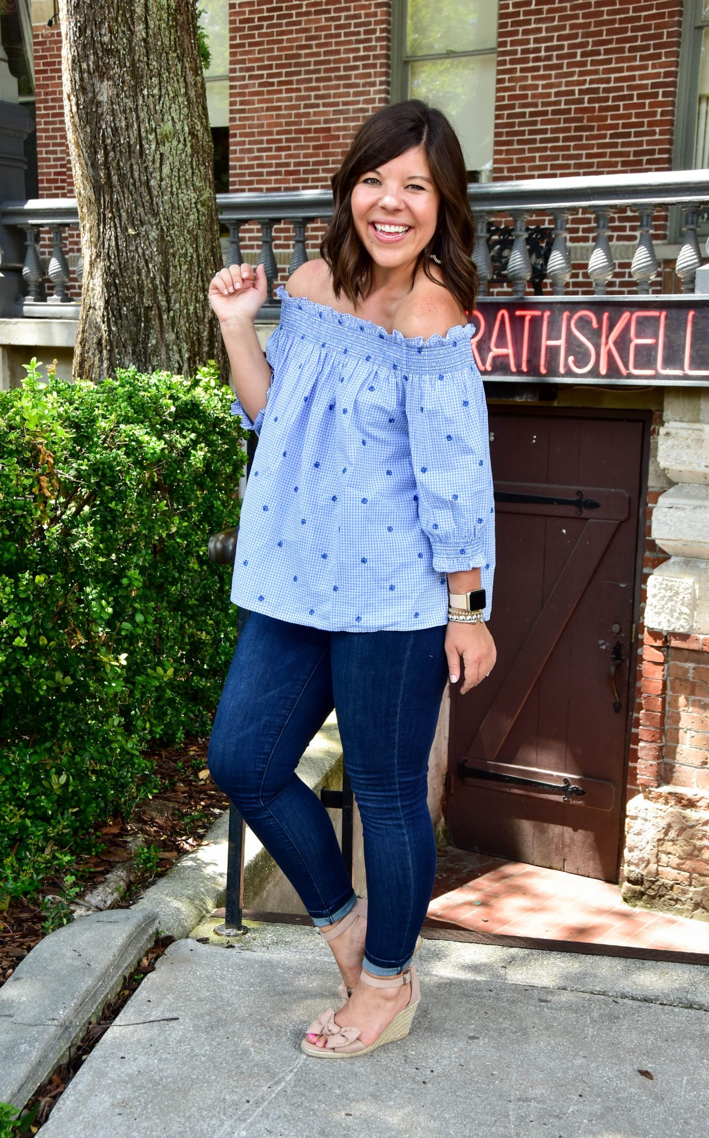Date Day Style in Off the Shoulder