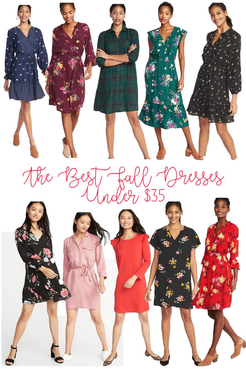 The Best Fall Dresses Under $35