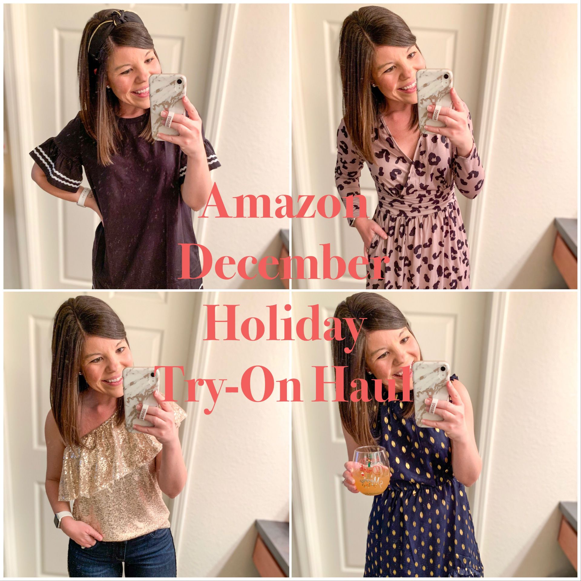 December Amazon Try-On Haul