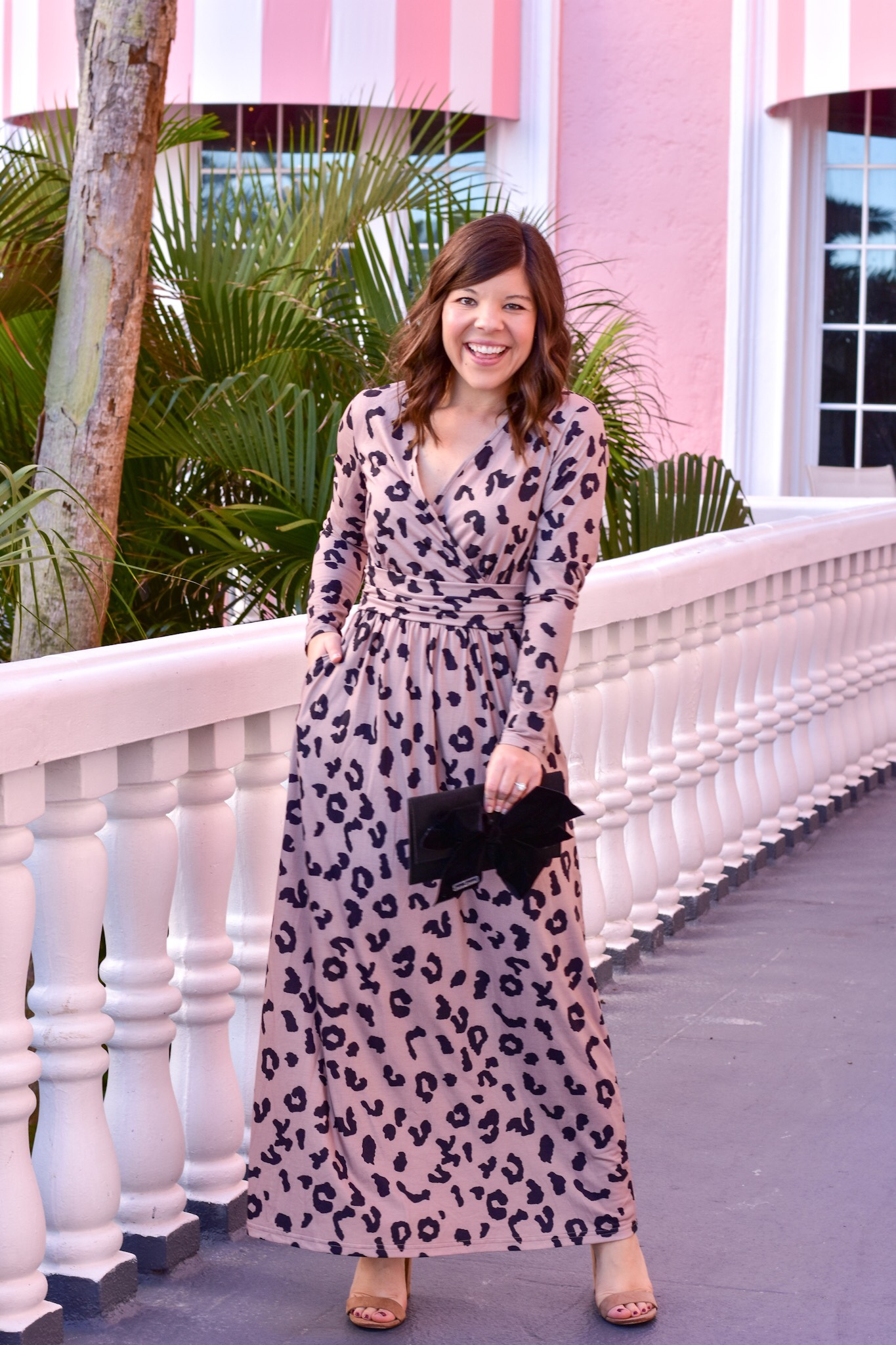 A Show Stopping Leopard Maxi