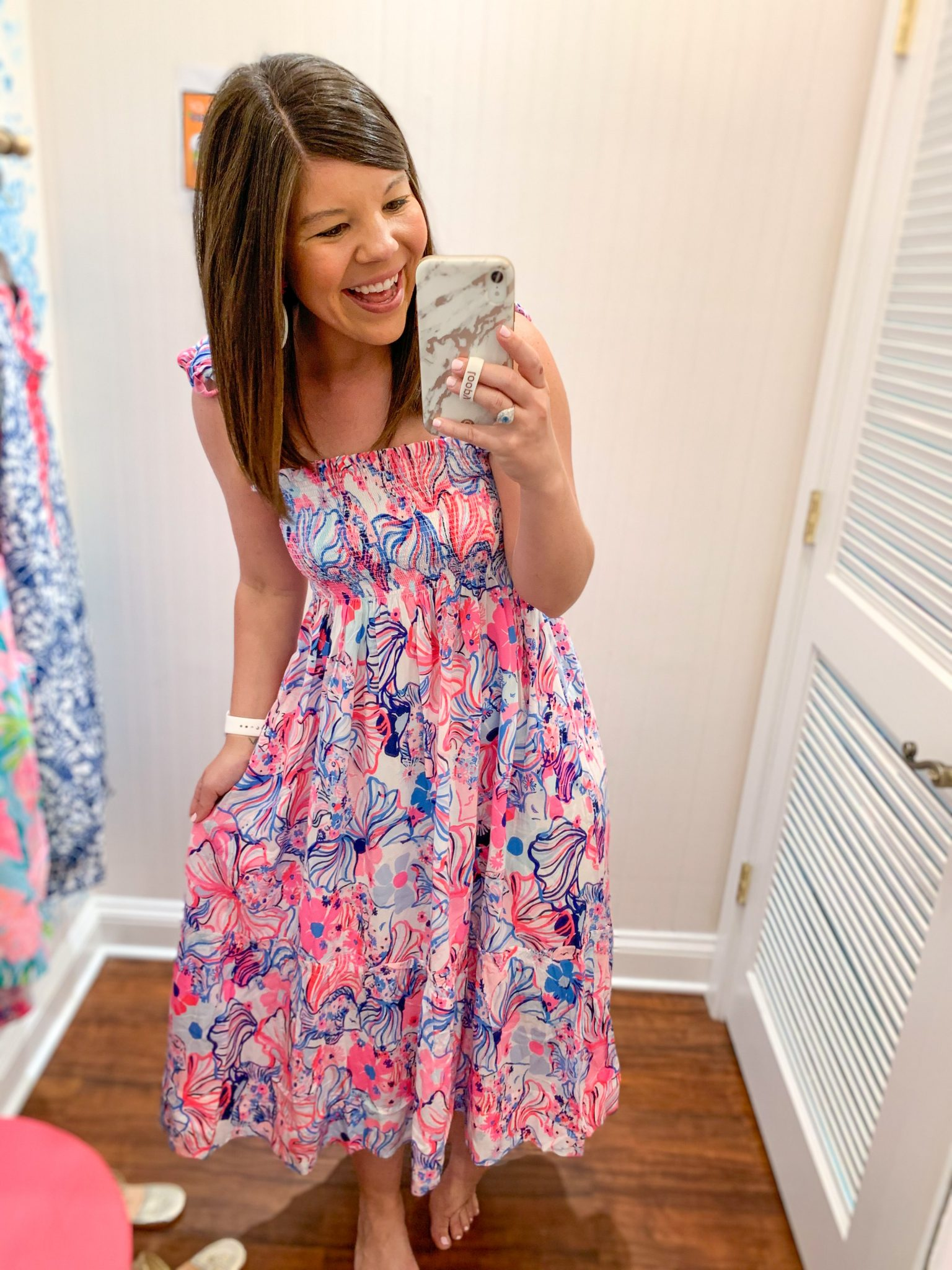 Charleston Lilly Pulitzer Try On