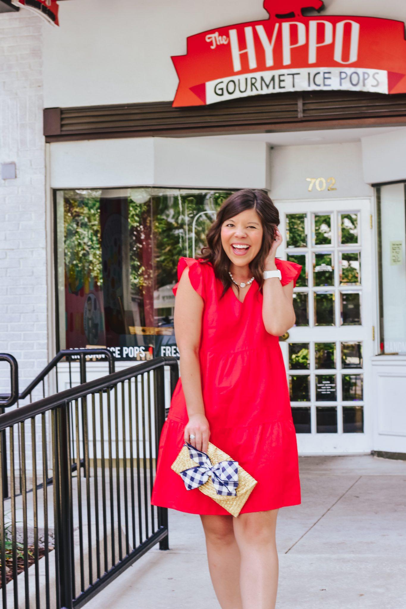 Prime Find: Red Dress for Summer